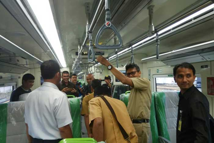 Tak Lama Lagi Kereta Api Bandara Minangkabau Diresmikan Jokowi