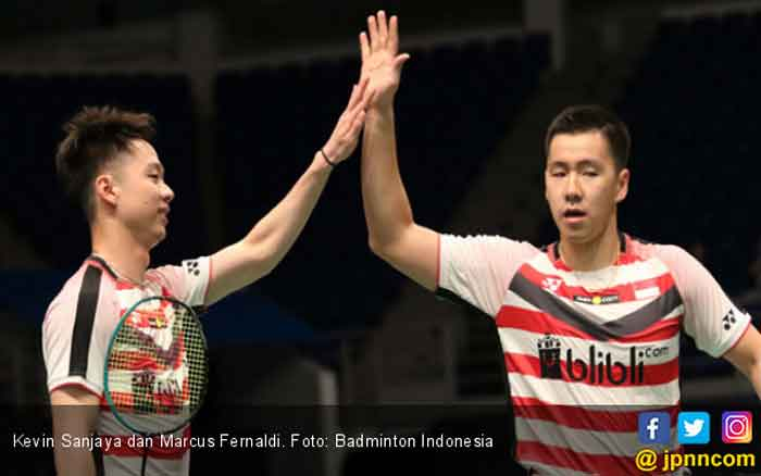Gelar Indonesia Open 2018, Persembahan Marcus/Kevin untuk Rakyat Indonesia