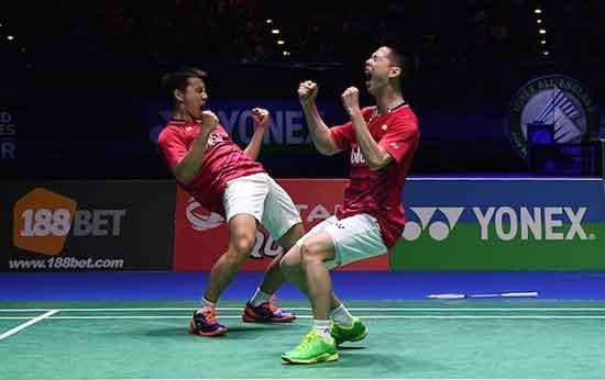Ini Strategi Kevin/Marcus dalam Final Indonesia Open 2018