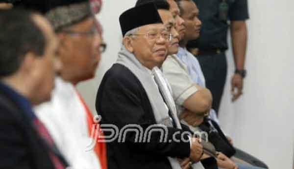 Dinilai Cocok Dampingi Jokowi, Kiai Ma'ruf: Siap kalau Negara Memanggil