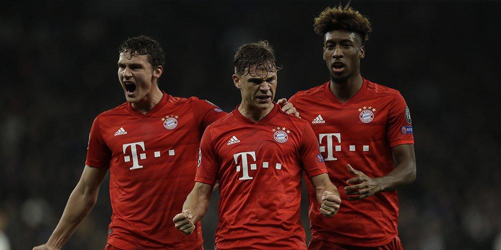 Bayern Bantai Tottenham, Juventus dan Atletico Menang