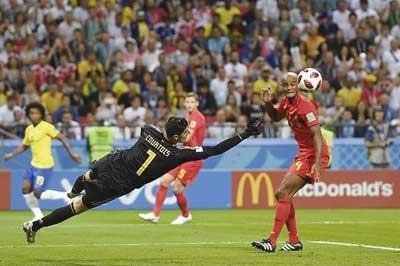 Kiper Belgia Sudah Biasa Hadapi Neymar