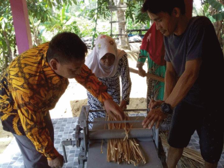 BP2LHK Banjarbaru, Pengembangan Produk Kerajinan Berbasis Purun Tingkatkan Ekonomi Lahan Basah