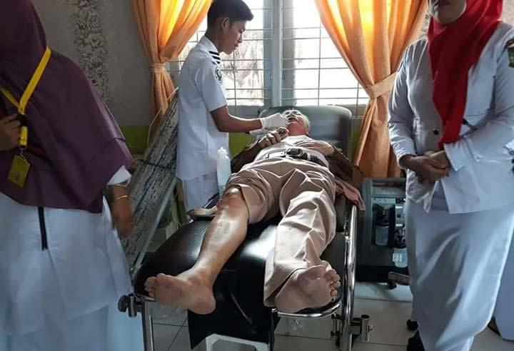 Kakek 64 Tahun Dirampok di Kuok