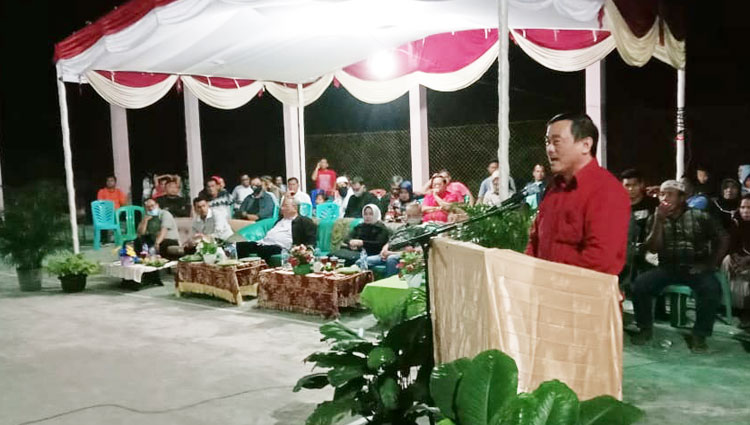 Infrastruktur Desa Teraliri Listrik, Masyarakat Sampaikan Terima Kasih ke Wabup Kuansing