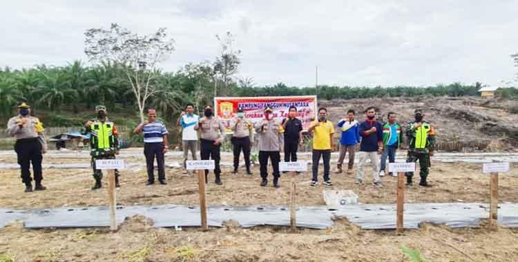 Desa Sako, Kuansing, Dukung Program Jaga Ketahanan Kampung Nusantara
