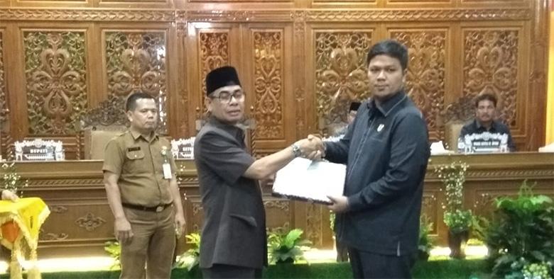 Bupati Kuansing Sampaikan LKPj 2018