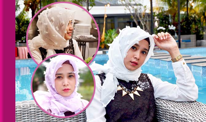 Look Doozy With Hijab Ruby