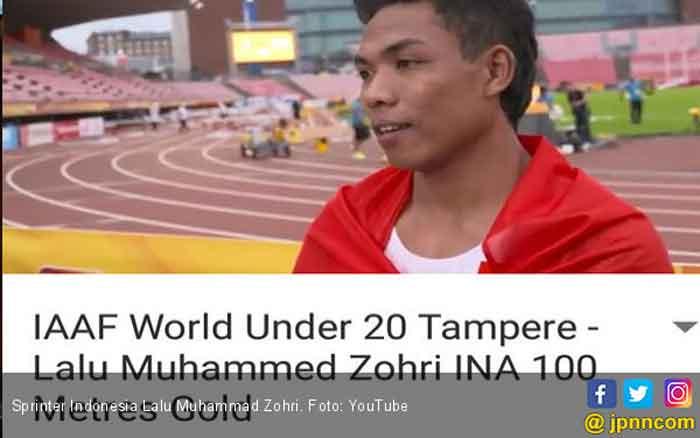 Top! Juara Dunia U-20 2018 Berhasil Diraih Pelari Indonesia