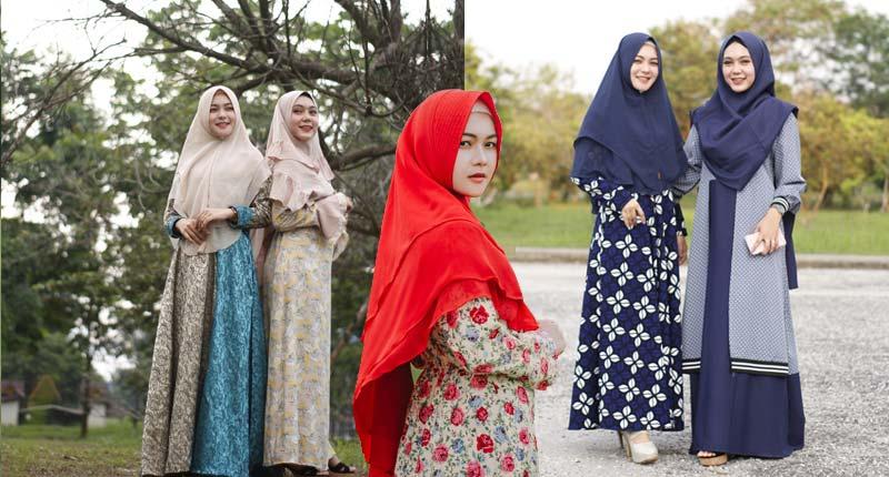 Clean Look Dengan Hijab Syar'i