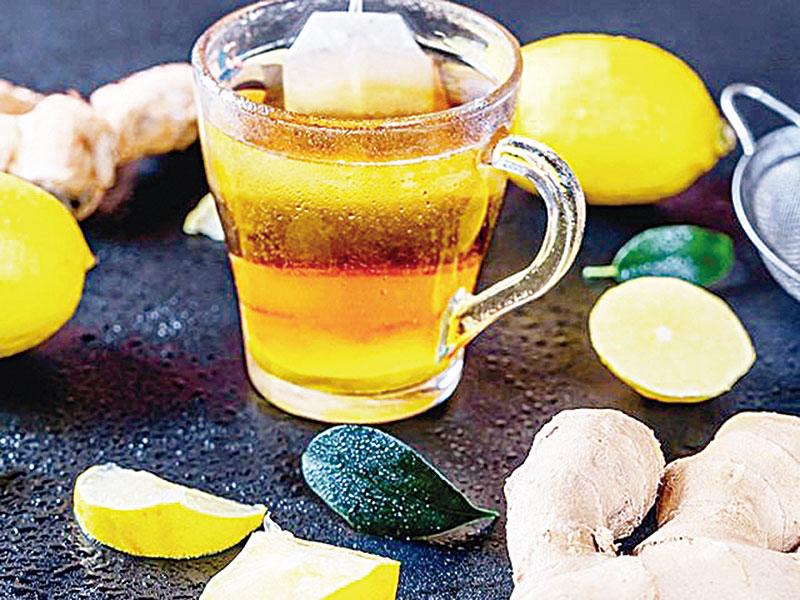 Rasakan Khasiat Minum Campuran Air Jahe, Lemon, dan Madu
