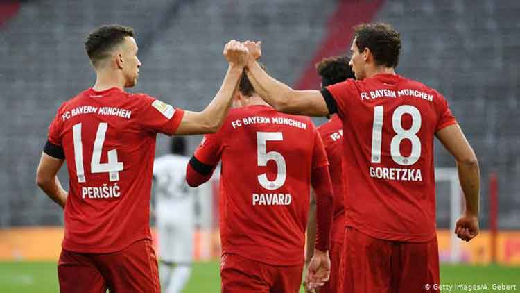 Bantai Frankfurt 5-2, Dendam Muenchen Terbayarkan