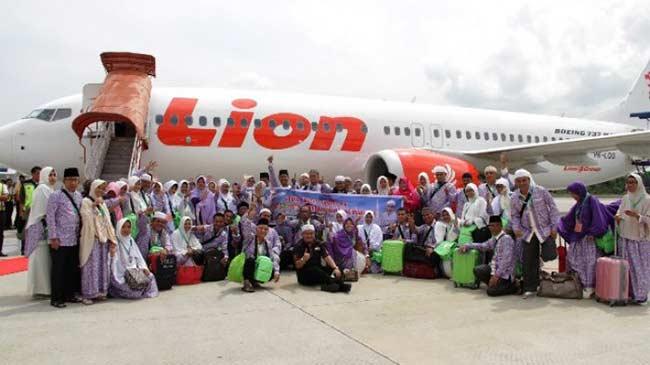 Lion Air Kembali Sediakan Penerbangan Umrah dari Pekanbaru