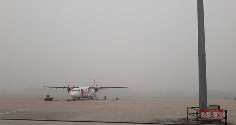 Kabut Asap, Mentan Batal ke Pekanbaru