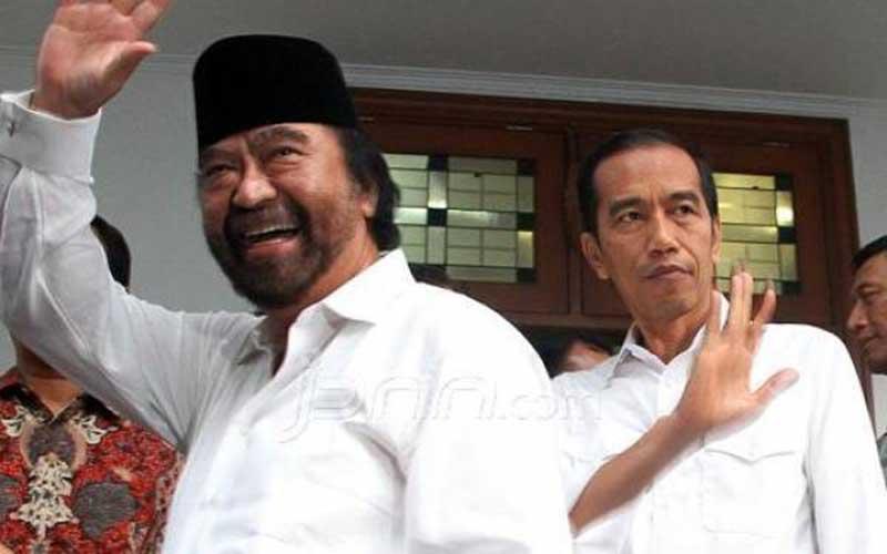 Hubungan Jokowi dengan Surya Paloh Sangat Erat