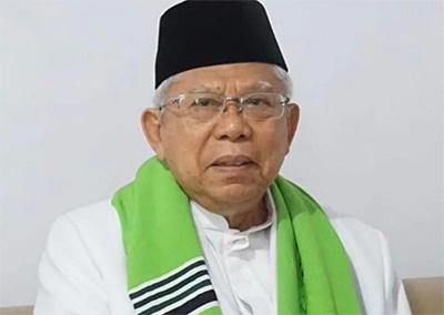 Soal Kabinet, Ma'ruf Amin Pasrahkan ke Jokowi