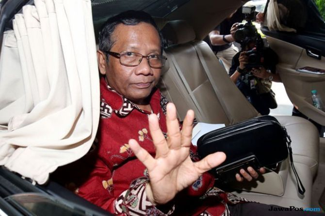 Perhatian! Begini Jawaban Mahfud MD soal Kabar Akan Jadi Cawapres Jokowi