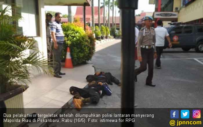 Leher Tertebas, Polisi Korban Penyerangan Mapolda Riau Masih Dirawat di RS