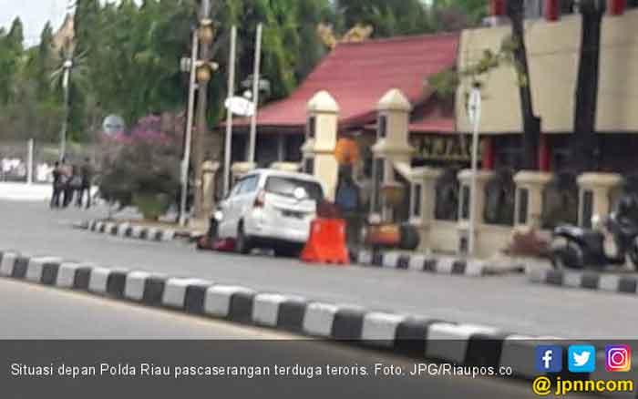Empat Penyerang Mapolda Riau Bawa Bom di Tubuh Mereka, Ini Kata Polri