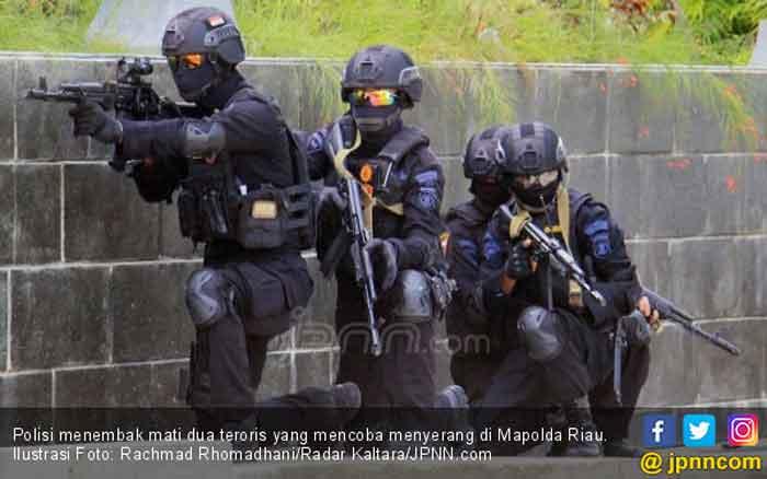 Waspada! Sopir Pembawa Terduga Teroris ke Mapolda Riau Masih Diburu Polisi