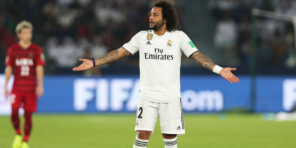 Marcelo Menuju Pintu Keluar Madrid