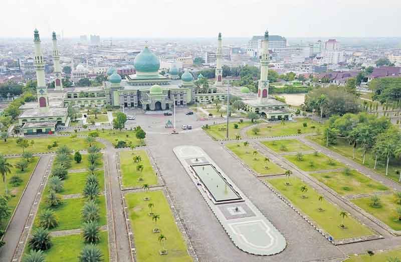 Aktivitas Olahraga di Masjid Raya An-Nur Ditiadakan