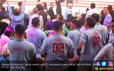 BPN Kaget Lihat TKN Bawa Balon ke Arena Debat Kedua Capres