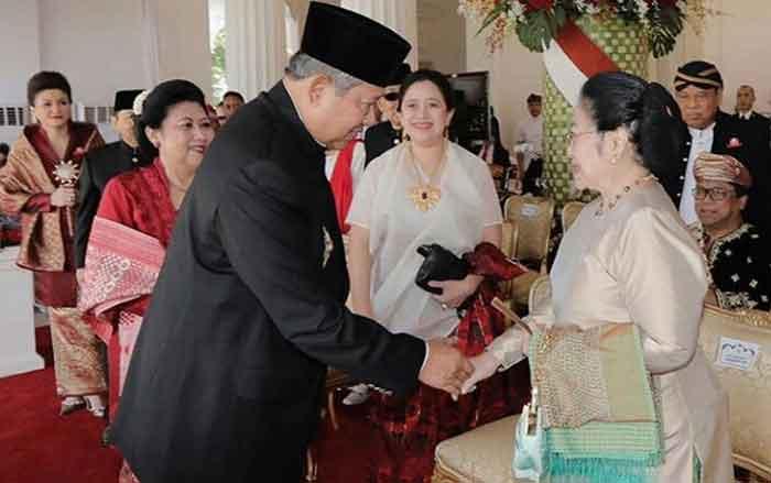 Mega-SBY Bertemu, Luhut: Hanya Sebatas Salaman