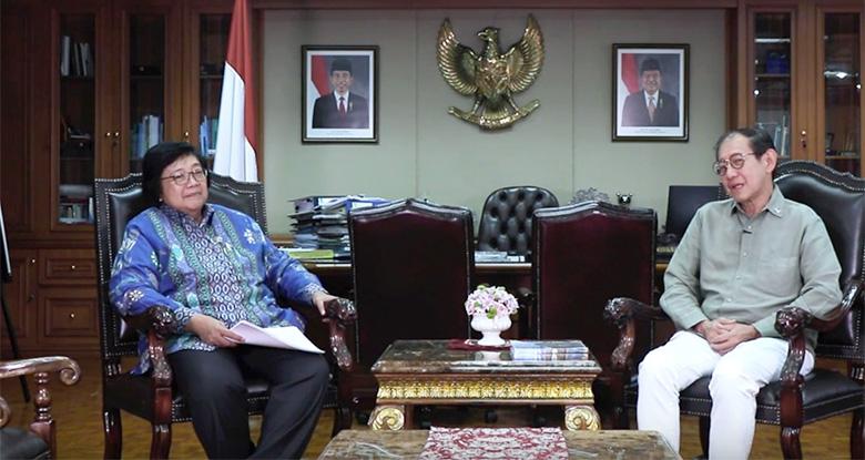 Menteri Siti Menyebut Masih Terjadi Spekulasi Gakum Karhutla