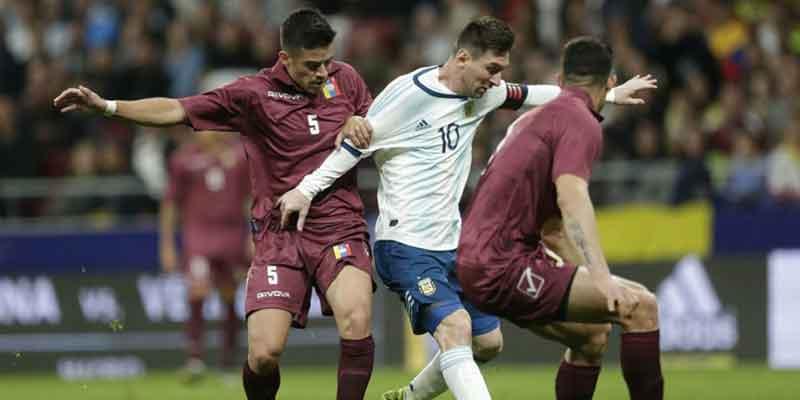 Tak Ada Efek Messi, Argentina Digulung Venezuela