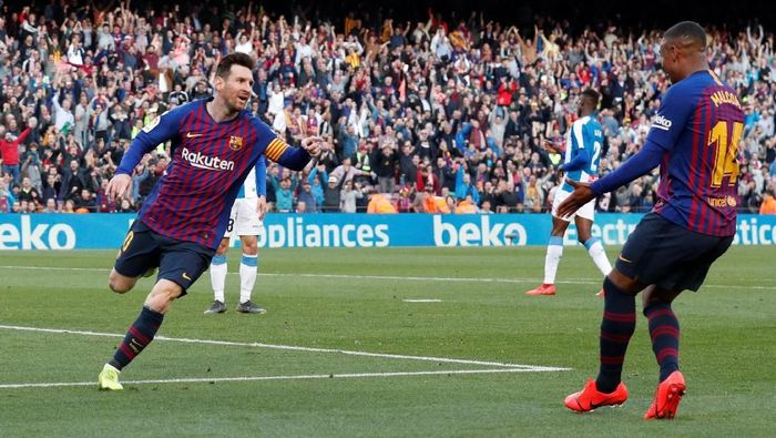 Barca Menangi Derby Catalonia