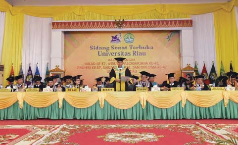 Universitas Riau Telah Lahirkan 103.657 Alumni