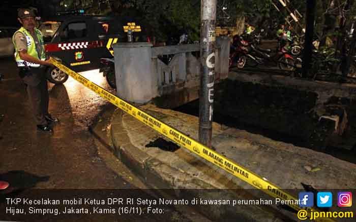 Saat Novanto Kecelakaan, yang Ditabrak Bukan Tiang Listrik, melainkan...