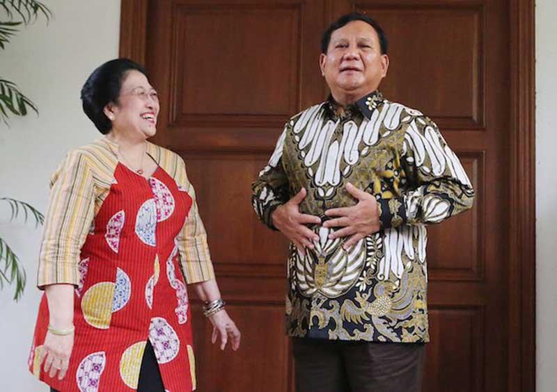 Inilah Kisah Persahabatan Megawati dengan Prabowo