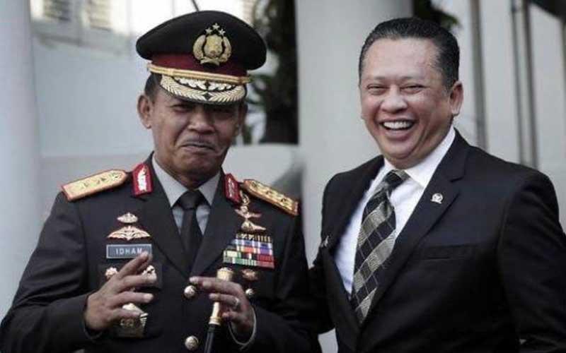 Ketua MPR RI: Idham Azis Sosok Tepat Jabat Kapolri