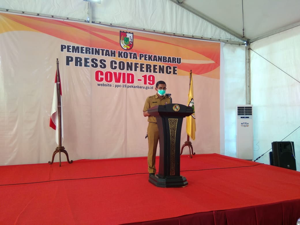 Jubir Gugus Tugas Pekanbaru: Positif Corona Terbaru Warga Sail
