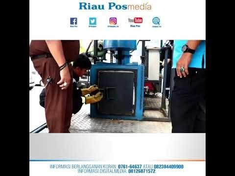 BNNP Riau Musnahkan Sabu-sabu Seberat 1 Kg (video)