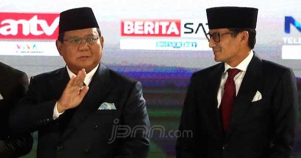 Bersediakah Prabowo Masuk Kabinet Jokowi Jika Kalah?