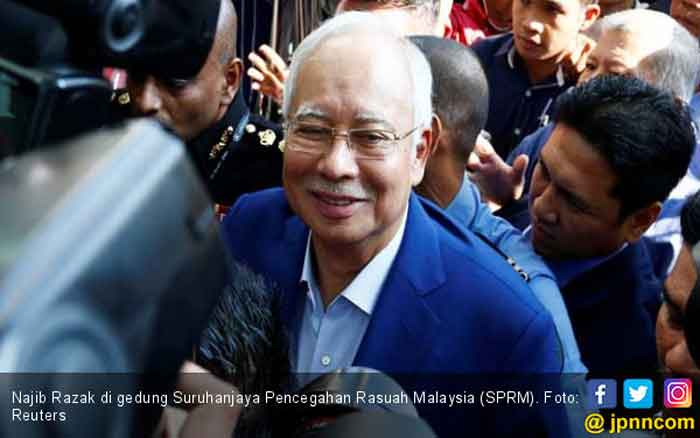Begini Protes Najib Razak saat Tahu Rekeningnya Dibekukan KPK Malaysia