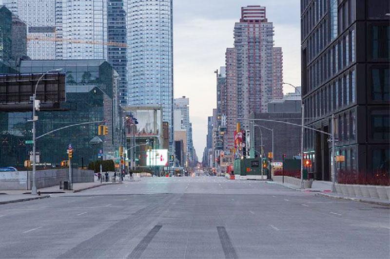 """New York, Kota Tak Pernah Tidur, Kini """"Mati"""" karena Corona"""