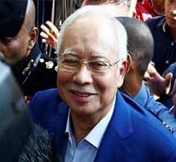 Najib Razak Jalani Interogasi Dugaan Korupsi