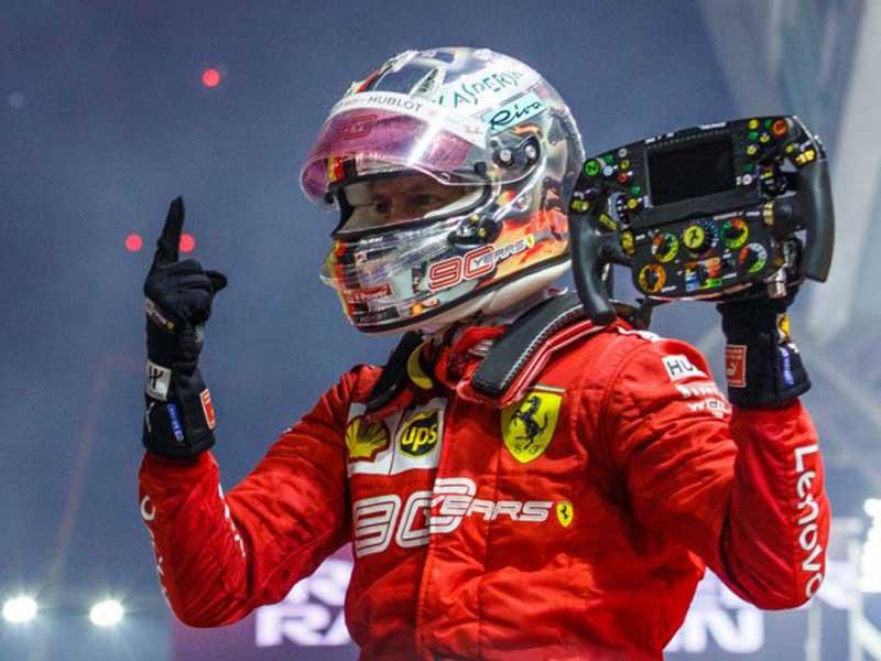 Ferrari Menang Tiga Race Beruntun, Mercedes Ketakutan