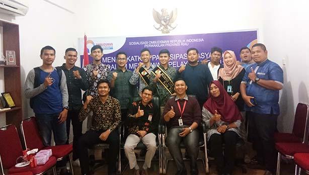 Ombudsman Riau Ajak Masyarakat Peduli Pelayanan Publik
