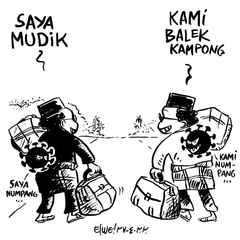 MUDIK vs BALEK KAMPONG