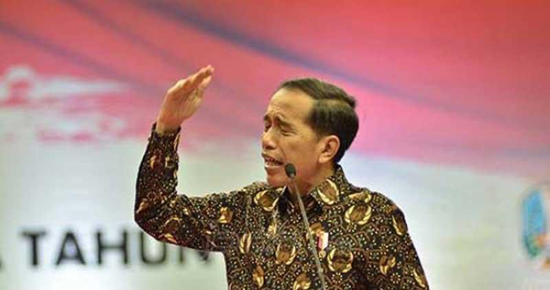 Jokowi: Jangan Ada yang Tepuk Tangan