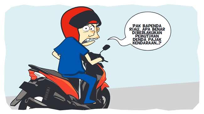 Diberlakukan Pemutihan Pajak Kendaraan