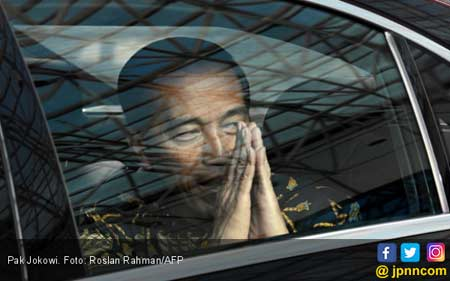 Begini Cara Jokowi Membalas Tudingan jadi Antek Asing