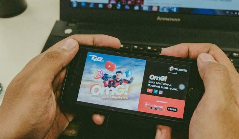 Telkomsel Hadirkan Paket OMG!, Makin Seru Pakai Youtube dan Sosmed