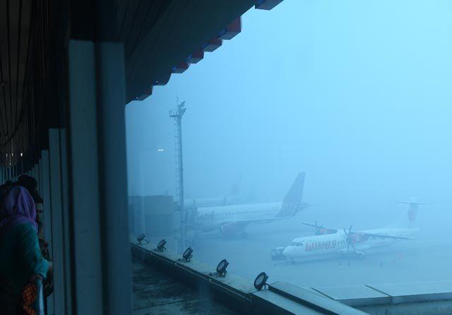 Udara Palembang Masuk Level Berbahaya