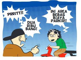 Bentrok dengan Juru Parkir